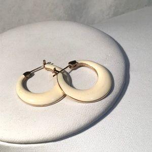 🌺Vintage Enamel Hoop Earrings
